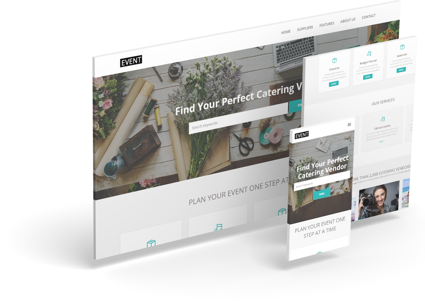 Event Bootrap 3 Html 5 Responsive Theme