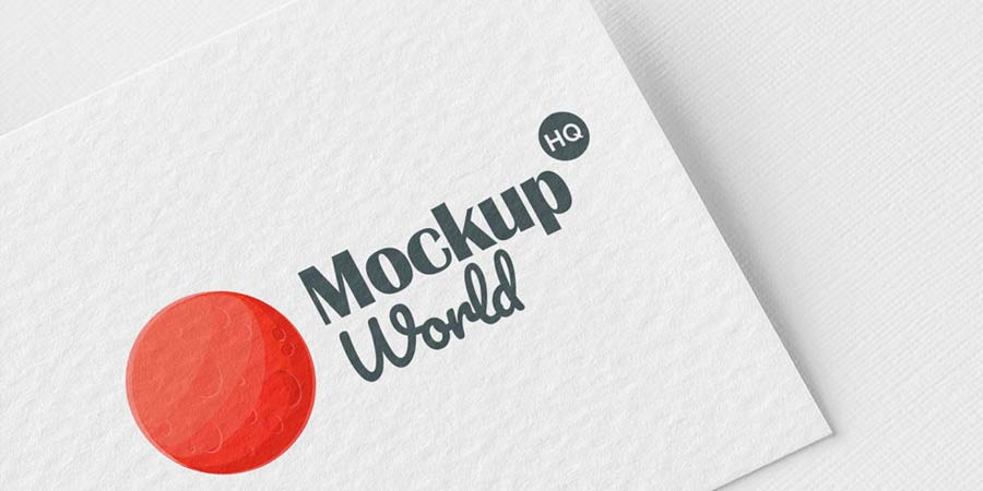 Branding Logo Mockup PSD