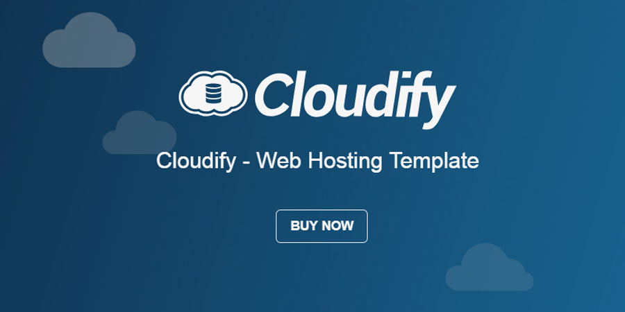 Cloudify - Web Hosting HTML Template
