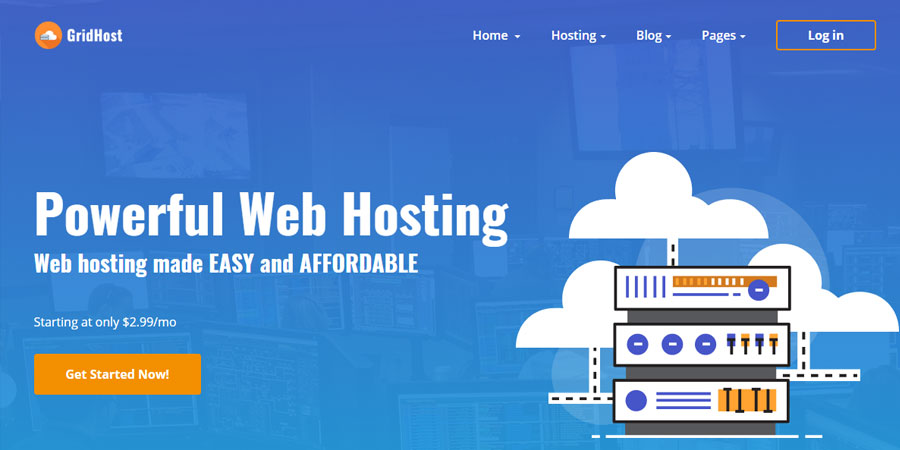 GridHost - Hosting Business Template