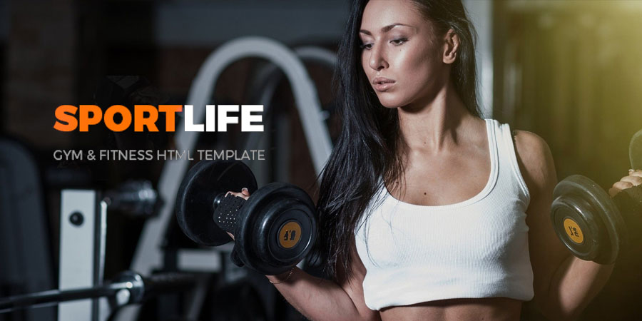 SportLife – Gym & Fitness HTML Template
