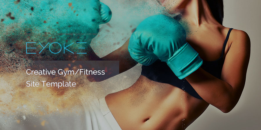 Eyoke - Creative Gym/Fitness HTML Template