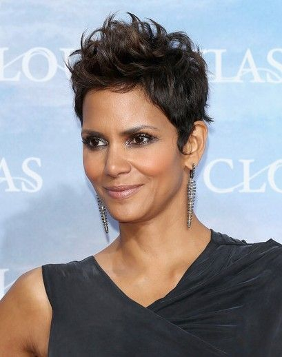 Picture of halle berry haircut
