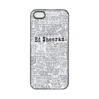 Ed sheeran iphone 3 case