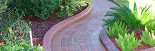Power wash and seal pavers