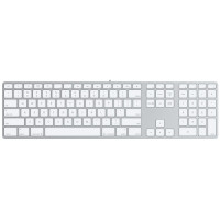 Apple Keyboard with Numeric, USB 2.0 x 2, white