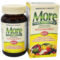American Health, More Than A Multiple, Multivitamin Formula - 120 Tablets