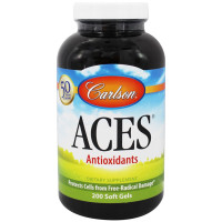 Carlson Labs, Aces, Vitamins A, C, E Plus Selenium - 200 Softgels