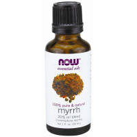 Now Foods, Essential Oils, Myrrh, 20% Oil Blend - 1 fl oz (30 ml)