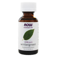 Now Foods, Essential Oils, Wintergreen - 1 fl oz (30 ml)
