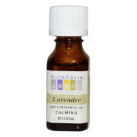 Aura Cacia, 100% Pure Essential Oil, Lavender, Calming - 0.5