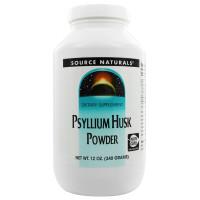 Source Naturals, Psyllium Husk Powder - 12 oz (340g)