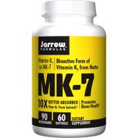 Jarrow Formulas, MK-7, 90 mcg - 60 Softgels