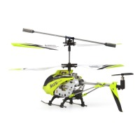 Syma, S107G 3 Channel RC Helicopter with Gyro - Green