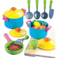 Small World, Toys Living, Young Chef Cookware 11 Pc. Playset