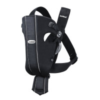 BabyBjörn, Baby Carrier Original, Cotton - Black