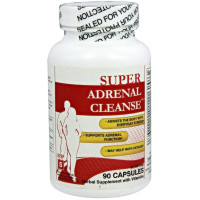 Health Plus, Super Adrenal Cleanse, Total Body Cleansing System - 90 Capsules