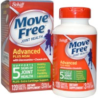 Schiff, Move Free Joint Health, Glucosamine Chondroitin Plus MSM - 120 Coated Tablets