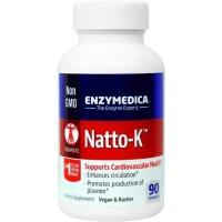 Enzymedica, Natto-K, Cardiovascular - 90 Capsules