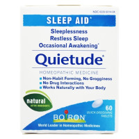 Boiron, Quietude, Sleep Aid, 60 Quick-Dissolving Tablets