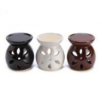 Gifts & Decor, Ceramic Mini Oil Warmer Trio Tealight Candle Holder Set