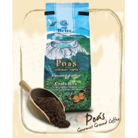 Cafe Britt, Poas Volcanic Earth Ground Coffee, Gourmet Arabica from Costa Rica - 12 oz. (3