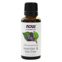 Now Foods, Essential Oils, Lavender & Tea Tree - 1 fl oz (30
