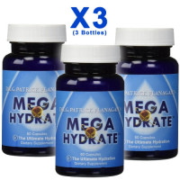 Phi Sciences, Mega Hydrate - 60 Capsules (3 Bottles)