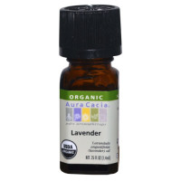 Aura Cacia, Organic, Lavender - 0.25 fl oz (7.4 ml)