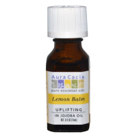Aura Cacia, Lemon Balm, Uplifting - 0.5 fl oz (15 ml)