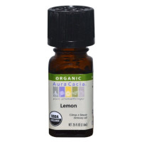 Aura Cacia, Organic, Lemon - 0.25 fl oz (7.4 ml)