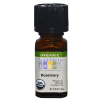 Aura Cacia, Organic, Rosemary - 0.25 fl oz (7.4 ml)