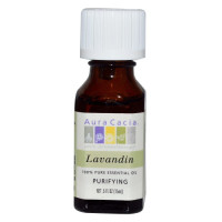 Aura Cacia, 100% Pure Essential Oil, Lavandin, Purifying - 0.5 fl oz (15 ml)