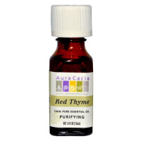 Aura Cacia, 100% Pure Essential Oil, Red Thyme, Purifying - 0.5 fl oz (15 ml)