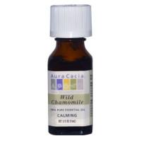 Aura Cacia, 100% Pure Essential Oil, Wild Chamomile - 0.5 fl oz (15 ml)