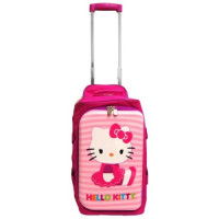 Hello Kitty, Rolling Bag (18 X 12 Inch)