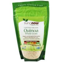 Now Foods, Certified Organic Quinoa, Whole Grain - 16 oz (454 g)