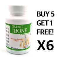 Smart Nutri, Nano Bone Plus - 60 Caps (6 Packs) - BUY 5, GET 1 FREE!