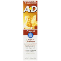 A & D, Diaper Rash Ointment & Skin Protectant, Original - 1.5 ounces