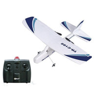 Top Race, Cessna C185 Electric 2 Ch Infrared Remote Control RC Airplane, Ready to Fly (Col