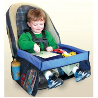Star Kids, Snack & Play Travel Tray With Mesh Pockets, Cup Holder & Reinforced Sides