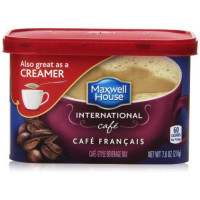 Maxwell House, International Coffee, Cafe Francais - 7.6 oz (216 g) x 2 Packs