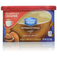 Maxwell House, International Coffee, Hazelnut Cafe - 9 oz (256 g) x 2 Packs