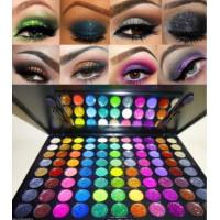 Beauty Treats, 88 PRO Glitter Cream Color Eye Shadow MakeupPalette