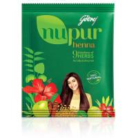 Godrej, Nupur Mehendi Powder 9 Herbs Blend - 120 Gram (Net W