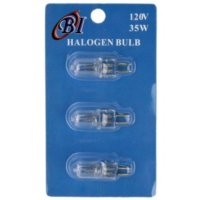 Generic, 35 Watt Halogen Bulb For Electric Oil Warmers - 3 pc. Set