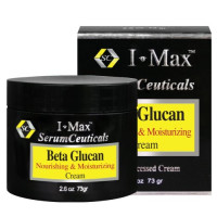 MaxLife, i-Max®, Beta Glucan 5% Nourishing & Moisturizing Cream - 2.6 oz (73 g)