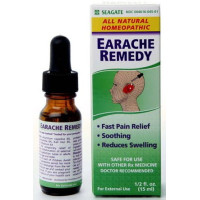 Seagate, Earache Remedy, Homeopathic Olive Leaf Extract  - 0.5 oz.