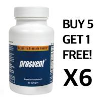 Sunbio, Prosvent - 60 Capsules X 6 (1 Bottle FREE)