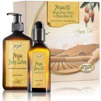 HY Vitamins, Dry Itchy Skin Body Kit; Moroccan Argan Deep Moisturizer Body Lotion - 8.5 oz